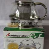 China manufacturer glass pot