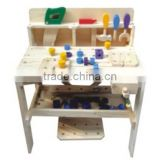Wooden math toys,Large manual operation table for kids