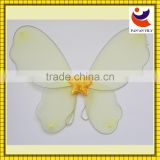 China factory wholesale pink color beautiful butterfly wings costume for kids