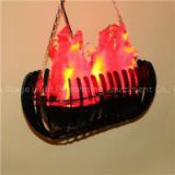 20W HANGING DECORATION FAKE FIRE LED SILK FLAME LIGHT