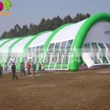 Giant transparent inflatable arch tent for events