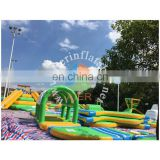 PVC Material Customized Type Giant inflatable floating water park for sale