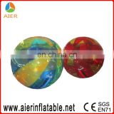 Inflatable water walking ball, kids playing water ball, inflatable water ball