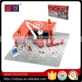Alloy fire firghter play set 2016 Newest intelligent alloy series toys for kids