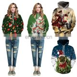 Fashion Christmas Hoodied Pullover Sweater Wholesale Hoodies Jumpers