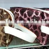 Leopard print PVC Travel Cosmetic Bags