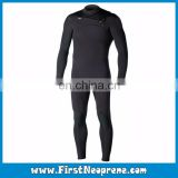 Professional Manufacturer Black Front Zip 3/5MM Premium Neoprene CR Mens Spring Wetsuits For Diving