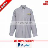 Office wear shirts with logo manufacturer