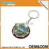 Snowdon Mini bus souvenir compass cut metal keyring