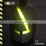 Adjustable Hi Visibility Reflective Belt, Durable, Weather Resistant and Military Style
