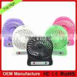 USB Electronic Mini Fan Rechargeable Portable Mini Fan