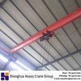 China HSHCL high quality 5 ton single girder overhead crane with hoist