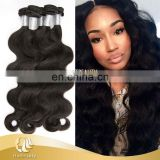 "Top Quality Jet-Black Remy Virgin 10""-32"" Body Wave Peruvian Hair"