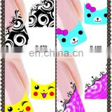 Latest wholesale nail art nail sticker