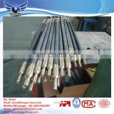 Coal bed drilling seal hole inflation hose grouting packers