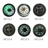 12mm Mini Oil Liquid Filled Button Compass Novelty