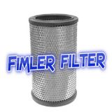 Replacement Filter For Oil Mist Filter Systems  P101876 & P101878  Vacuum Pump Filters