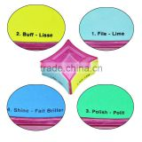 Various Pattens Disposable Nail File For Manicure Free Sample Supply