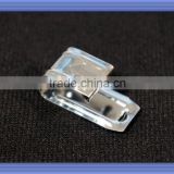 metal clip for plastic spring hanger clips and hook
