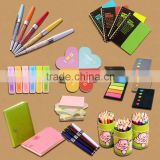 Cheap stationery promotional gifts. Promotion notebook. memo pad&Pen customized logo