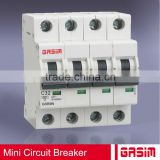 2 amp DC ce mini circuit breaker mcb