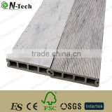 Outdoor Garden Composite Decking Interlocking Decking Floor / Patio Yard WPC Decking Tiles
