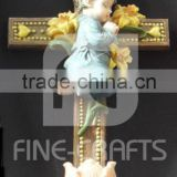 Polyresin cross religious wall crafts