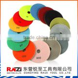 Flexible Dry Polishing Pad For Concrete Countertop