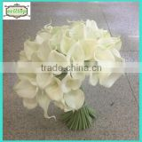 Hot sell 35cm mini pu real touch white calla lily artificial flowers                                                                         Quality Choice