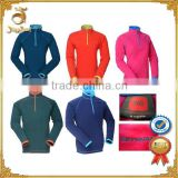 Stock Women's Soild Fleece Half Zip Microfleece Pullover from China