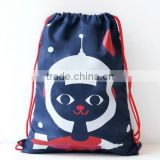 Animal Pattern Kids Baby Child Backpack for Book Clothes Mini String Bag