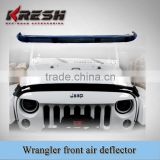 wrangler side window air deflector 2D or 4D/ jk wrangler front air deflector / side window deflector for jeep wrangler jk