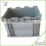 Clear plastic ball container