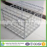 2x2x1m galvanized welded gabion cage for stone wall                                                                         Quality Choice