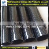 High gloss 100% carbon fiber telescopic pipe, tube, fibre pipe, for RC plane carbon fiber pole