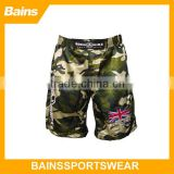 camouflage sublimated mma shorts&custom grappling mma shorts&fabric shorts mma