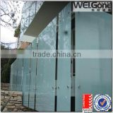6mm smoked tempered laminated glass for interior doors                                                                         Quality Choice