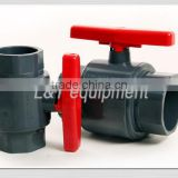 1/2 Inch to 4 Inch EPDM Seals UPVC Two Pieces Ball Valve