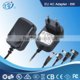 6W 12V European LED driver , plug adapter, AC Adapter, Switching Power Supply with GS CE
