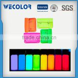 Best Selling Fluorescent T Shirt Color Paint Need Agent