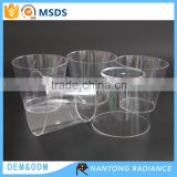 210ML clear plastic cup sake cup for whiskey beer
