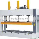 automatic pre-press machine/roller conveyor cold press for door /hydraulic oil press for wooden door