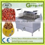 Peanut frying machine/cashew frying machine/ new chips frying machine Potato crisps line