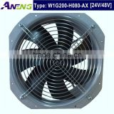 IP55 High Protected High Flow Cooling Industrial 12v Dc Axial Fan for Machine Refrigeration                                                                         Quality Choice