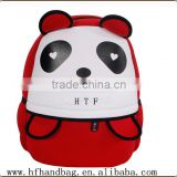 Customized Neoprene Cartoon childer Aminal Backpack with kindergarten school bags and backpacks