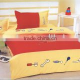 work baby good night twin bedding with duvet cover set