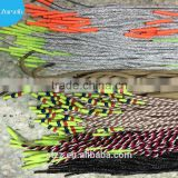 Silicone shoelace/mixed color shoe laces that buy wholesale direct from china