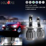 New Arrival High Quality Wholesale Price H4 H7 auto Led Headlight Bulb kit Lumileds