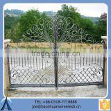Lowes Antique Timeproof Double Opening Gate/Iron Gate/Steel Gate For Home Garden