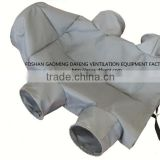 300Celsius custom design layflat ventilation reducing heater duct